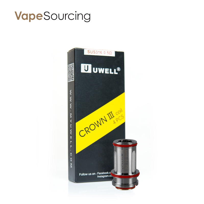 Uwell Crown 3 Replacement Coils-0.5ohm