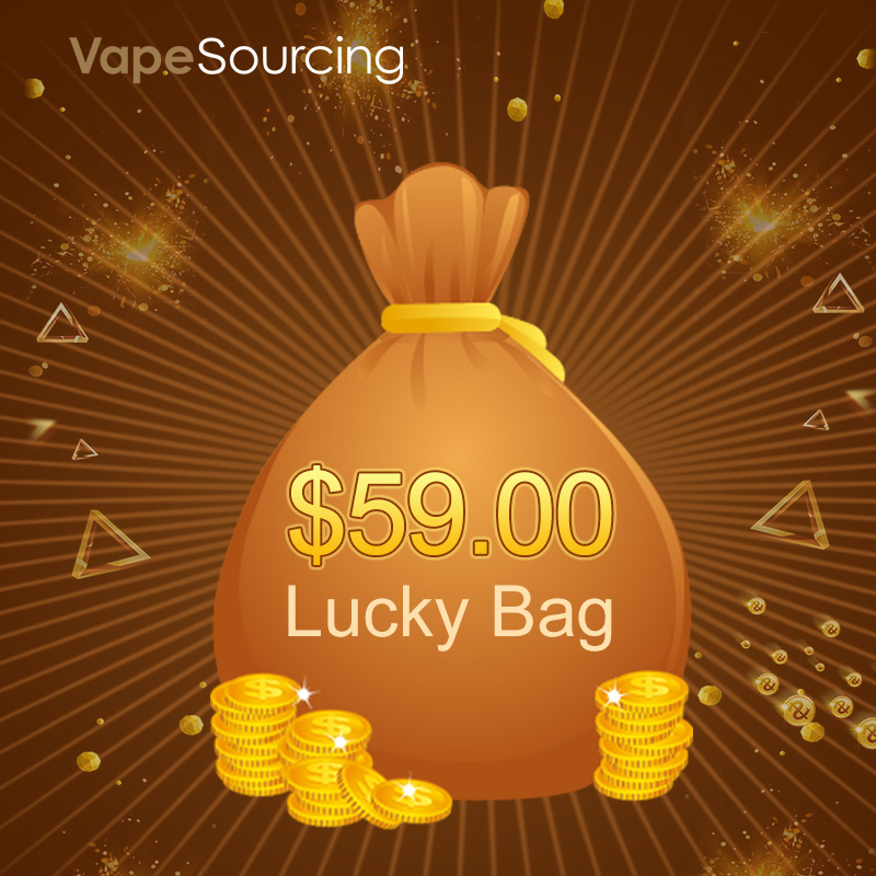VapeSourcing Lucky Bag-$59 for(1 Mod Or 1 Kit + 1 Juice)