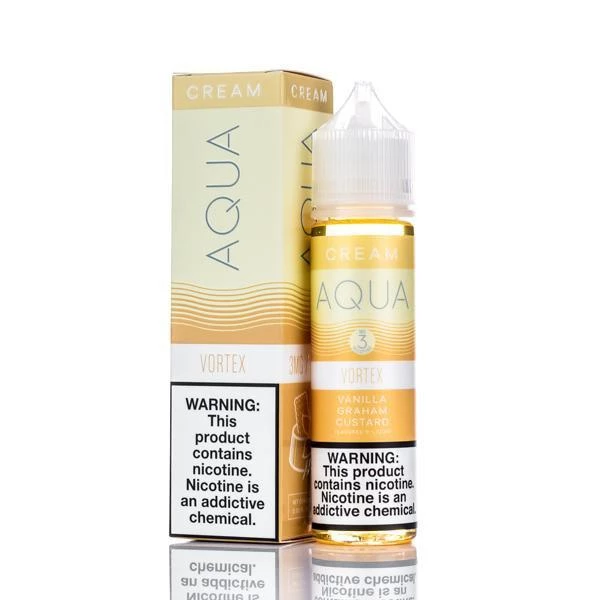 Aqua Cream Vortex E-juice 60ml review