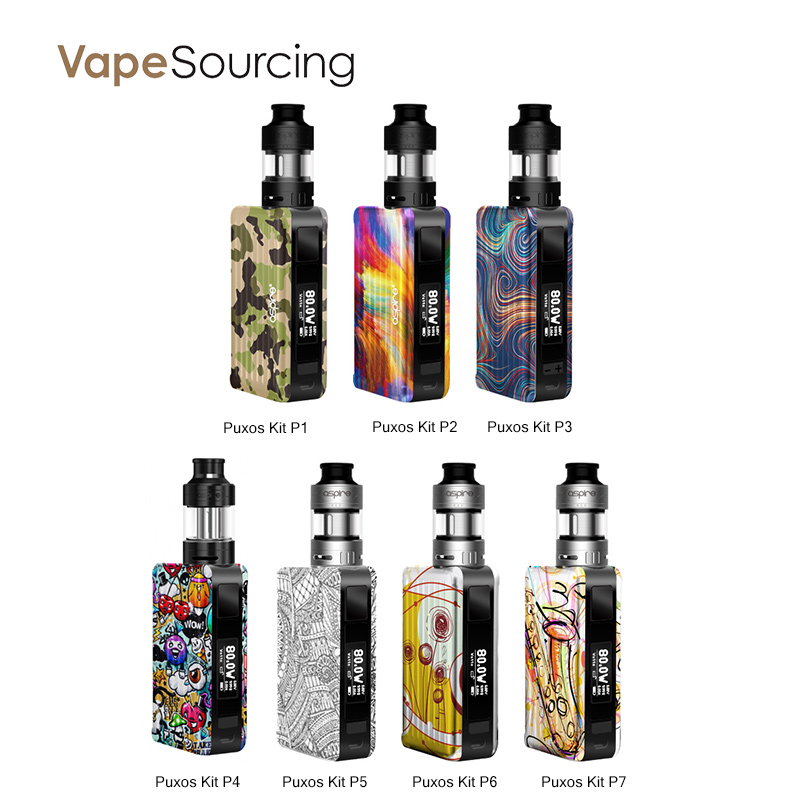 Aspire Puxos Kit With Cleito Pro Tank