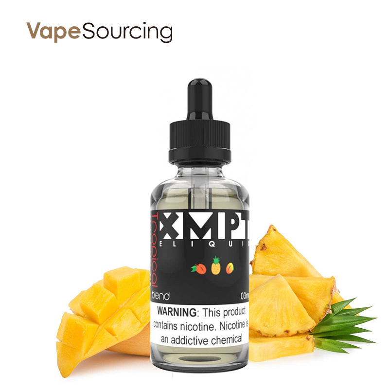 EXEMPT Pineapple and Mango Tropical E-juice