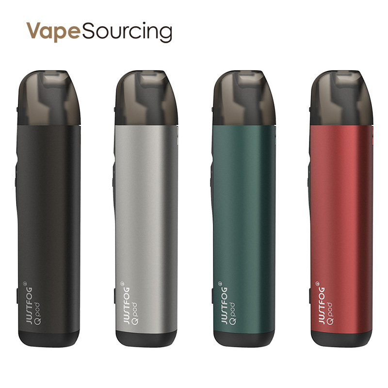 justfog qpod pod vape kit test