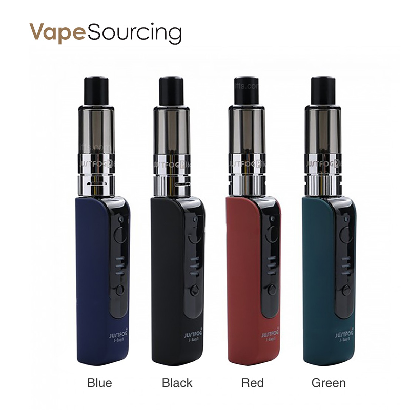 Justfog P16A VV Starter Kit with P16A Clearomizer 900mAh