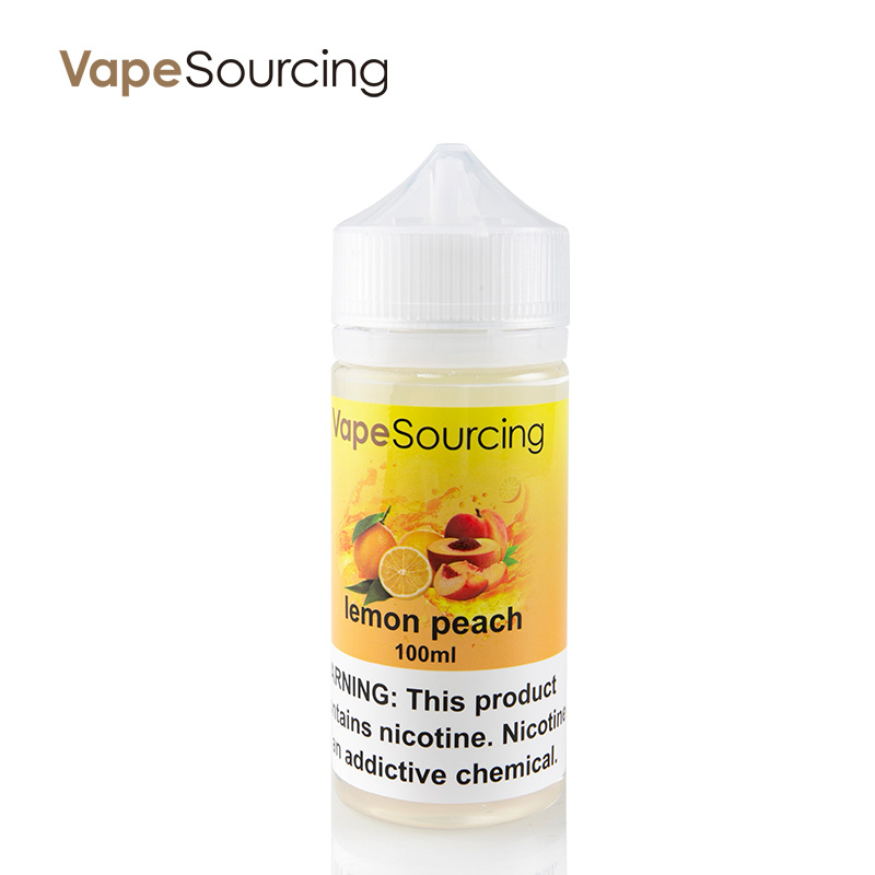 Vapesourcing Lemon Peach E-Juice