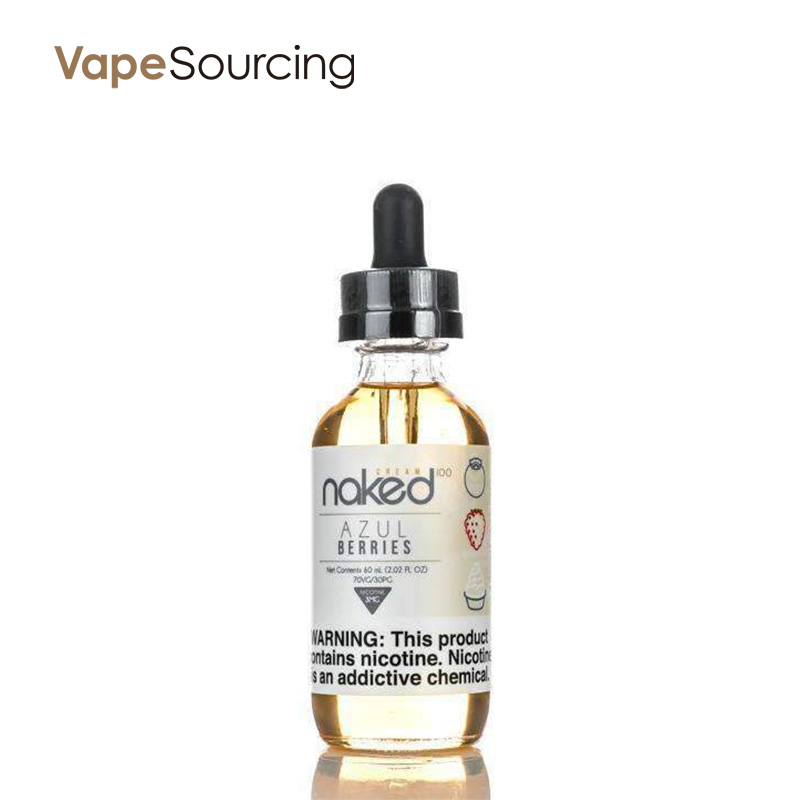 Naked 100 Cream Azul Berries E-juice 60ml