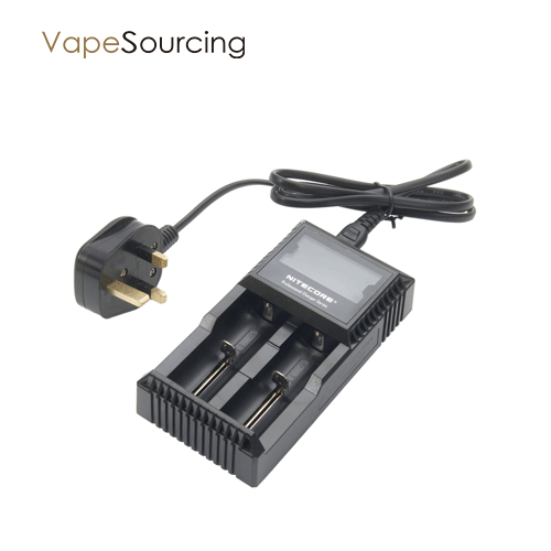 Nitecore D2 Charger-UK in vapesourcing