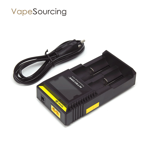 Nitecore D2 Charger-EU in vapesourcing