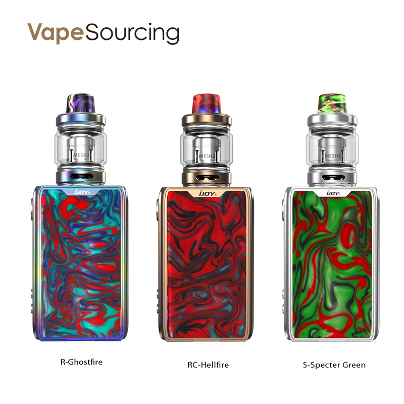 IJOY Shogun JR kit review
