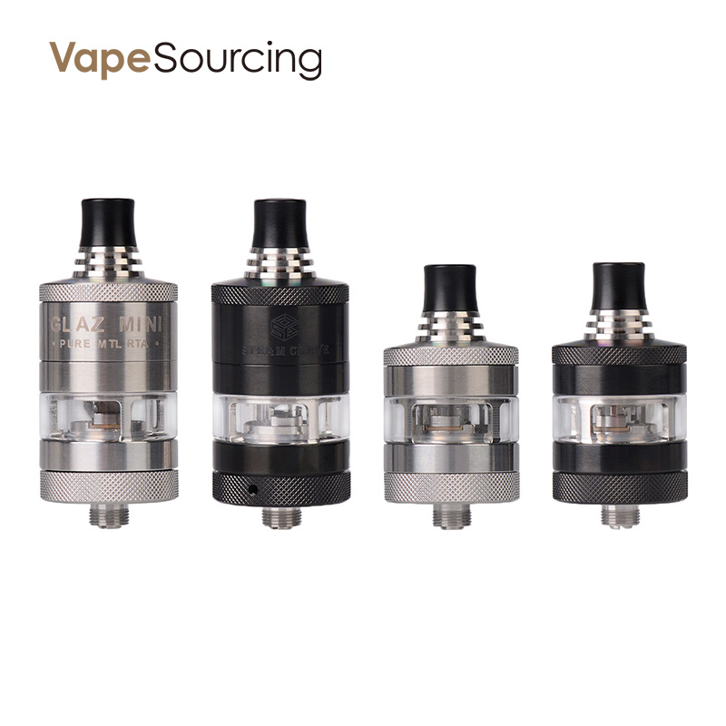Steam Crave Glaz Mini MTL RTA 23mm