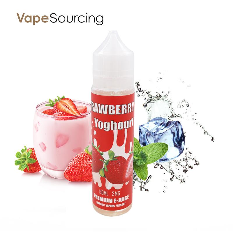 Strawberry Yoghourt E-Juice