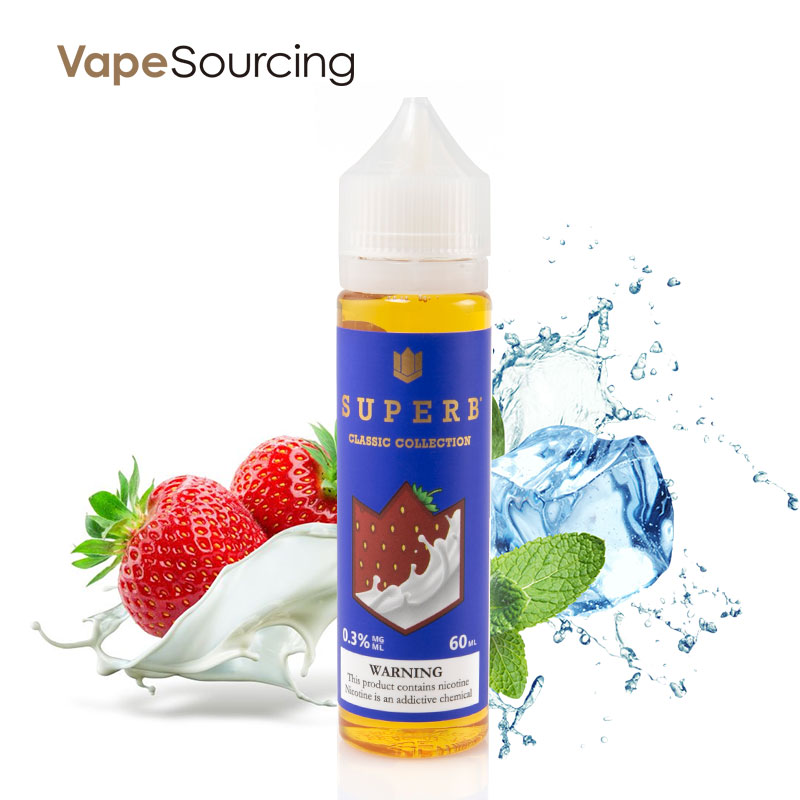 Superb Classic Collection Strawberry Milk E-Juice