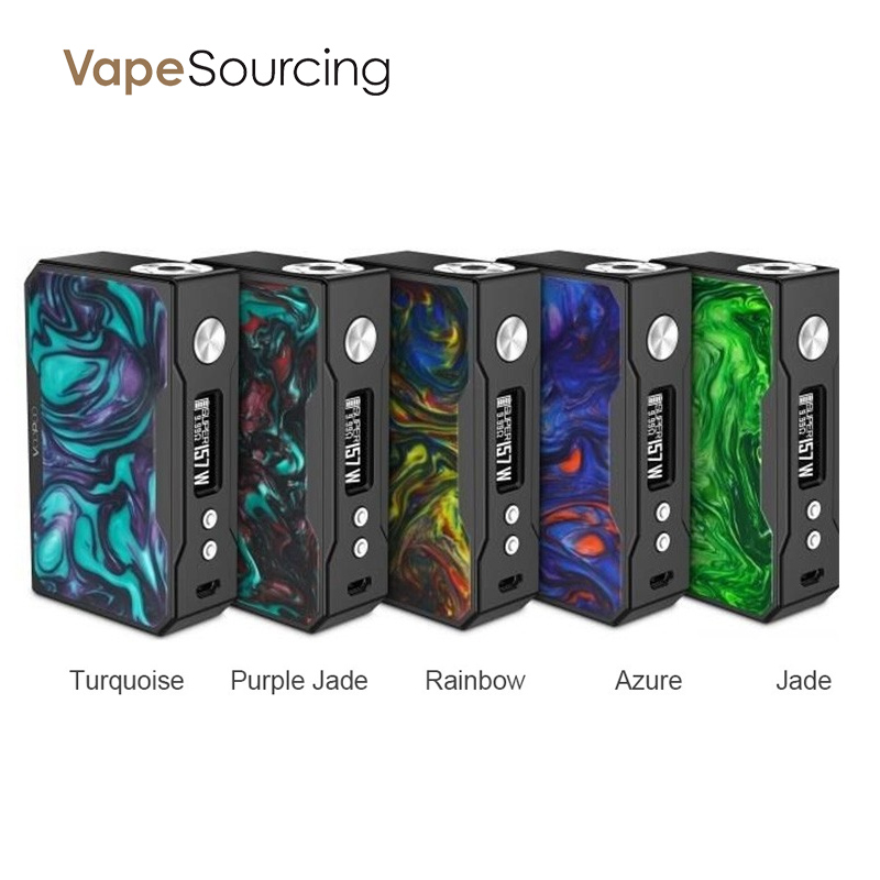 VOOPOO DRAG TC Box Mod 157W Resin Version Colors
