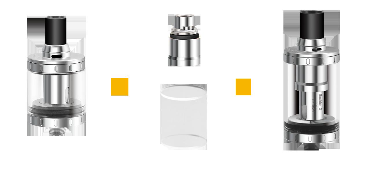 Aspire Nautilus X 4ML Adapter Kit in VapeSourcing