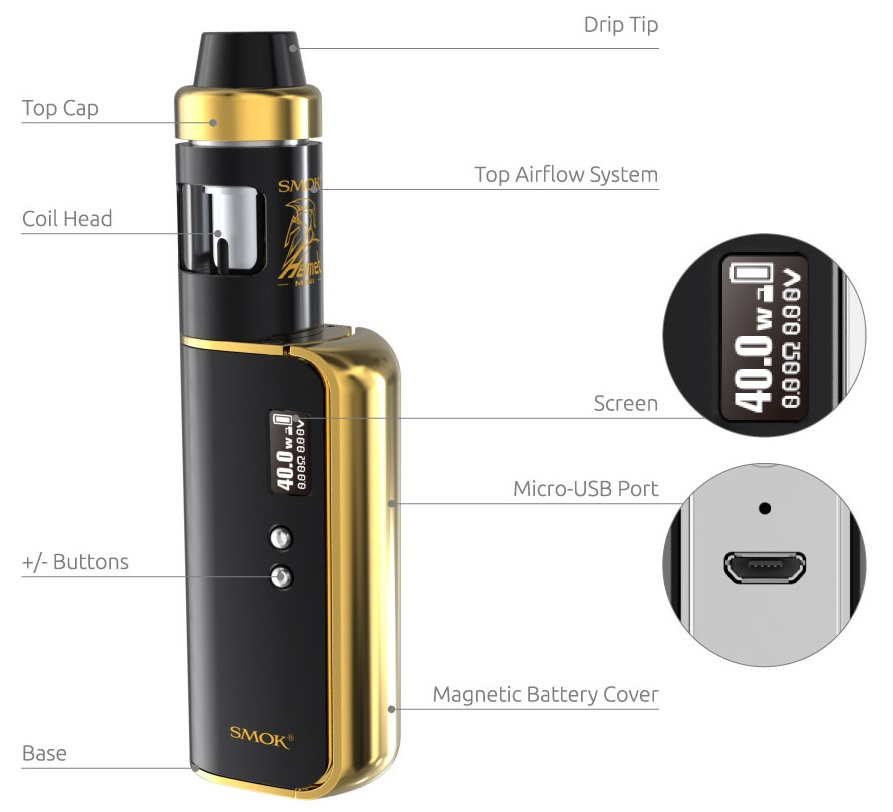 SMOK OSUB TC KIT in VapeSourcing