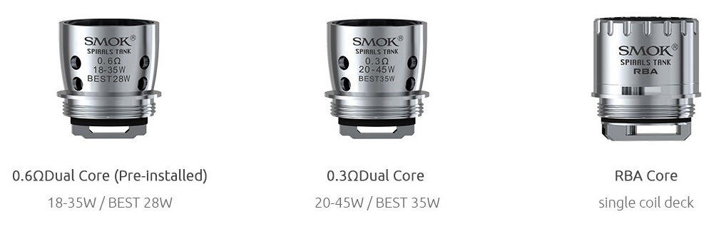 Smok Spirals Tank HIT BY TASTE STORM in VapeSourcing