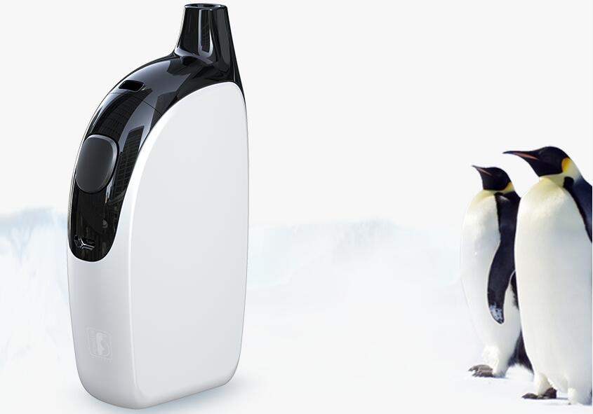 Penguin-like e-cigarette