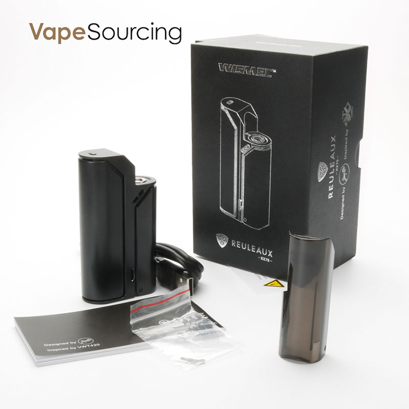 wismec reuleaux rx75 battery kit