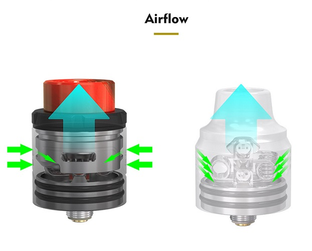 Pulse X airflow