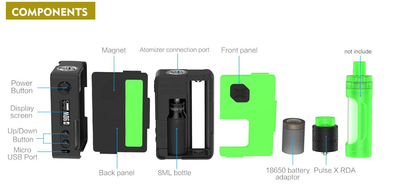Pulse X bf kit