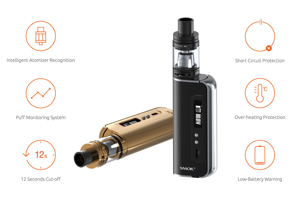 high quality Smok OSUB 80W Baby Kit