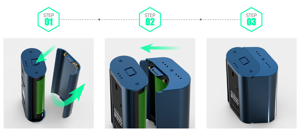 big battery of Smok GX2/4 MOD