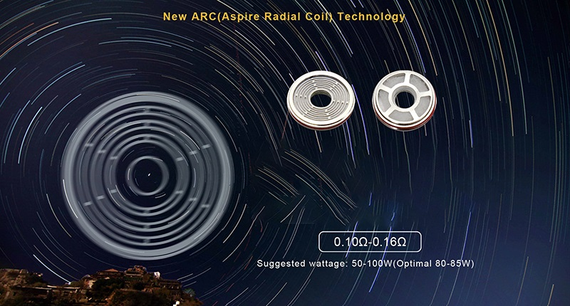 Aspire Radial Coil review