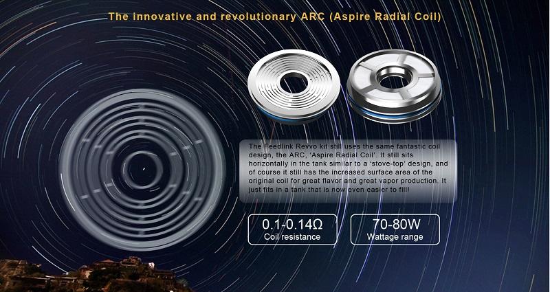 Aspire Feedlink Revvo Kit