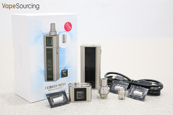 package of Joyetech cuboid mini Full kit