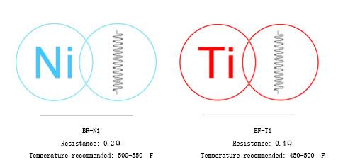 joyetech Cubis BF Ti/ Ni coils in vapesourcing