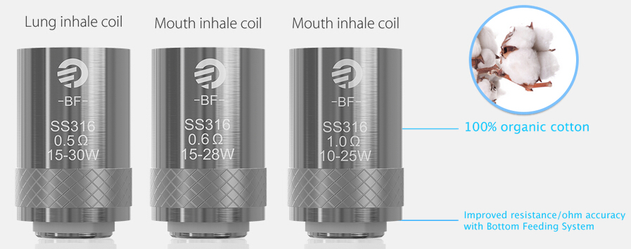 BF ss316 coils in vapesporcing