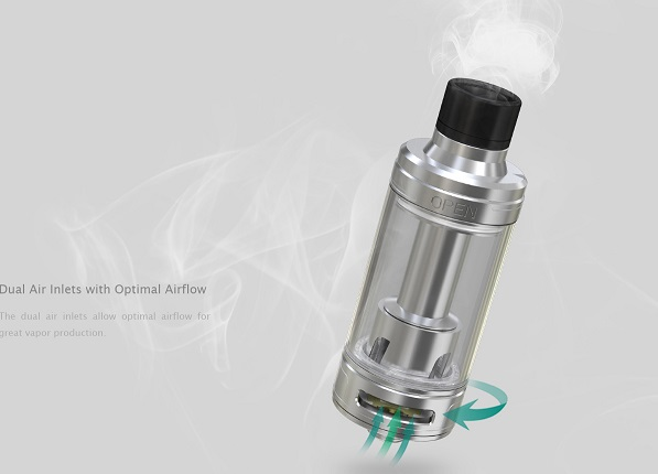 Dual Air Inlets with Optimal Airflow