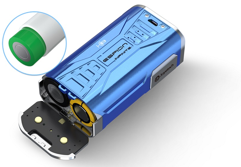 Compatible with 21700/18650 battery