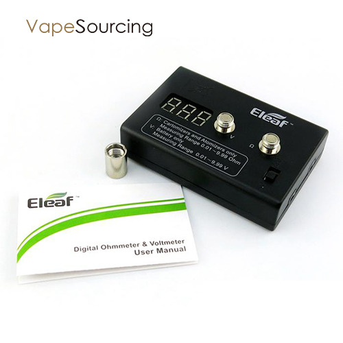 eleaf digital ohm meter parameter
