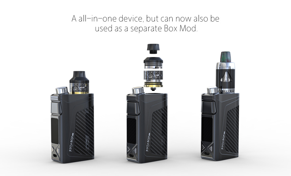 black ijoy rdta box mini