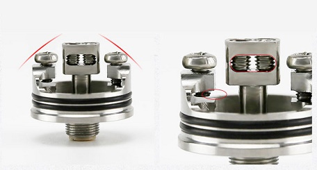 DIY fun and balanced coil posts wismec indestructible rda atomizer