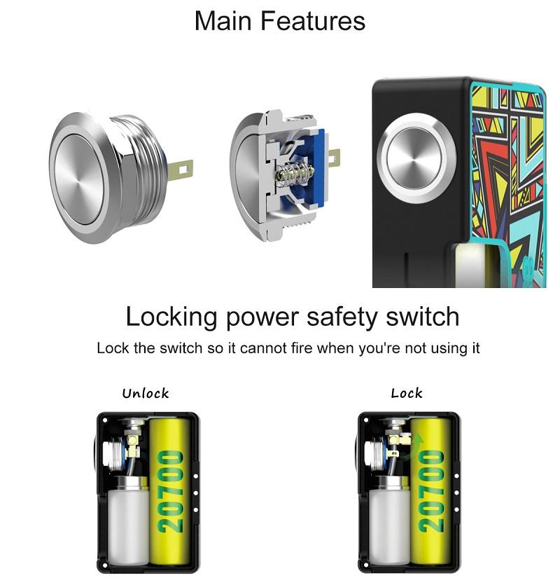 Vandy Vape Pulse BF Squonk Box Mod New Panels