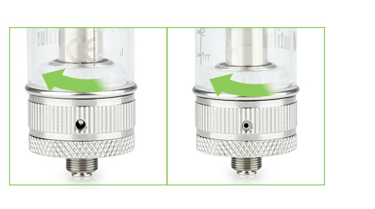 Aspire Nautilus Mini BVC Clearomizer easy to use
