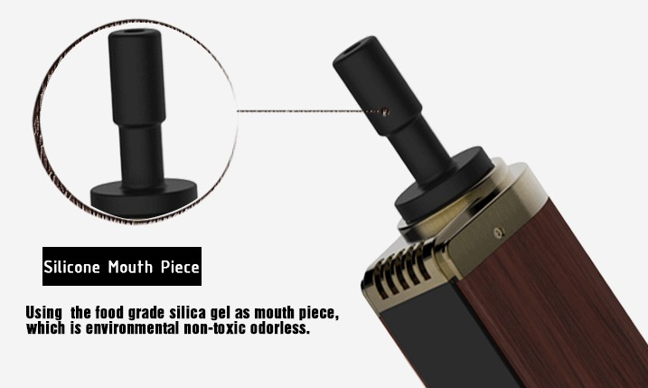 Pluto P8 Wooden Dry Herb Wax Vaporizer