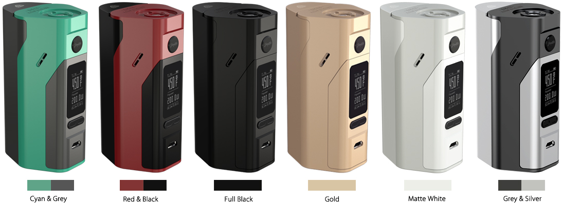 WISMEC Reuleaux RX2/3 Mod with six color