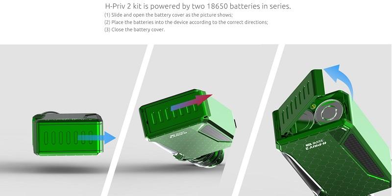 H-PRIV 2 Kit with TFV12 Big Baby Prince
