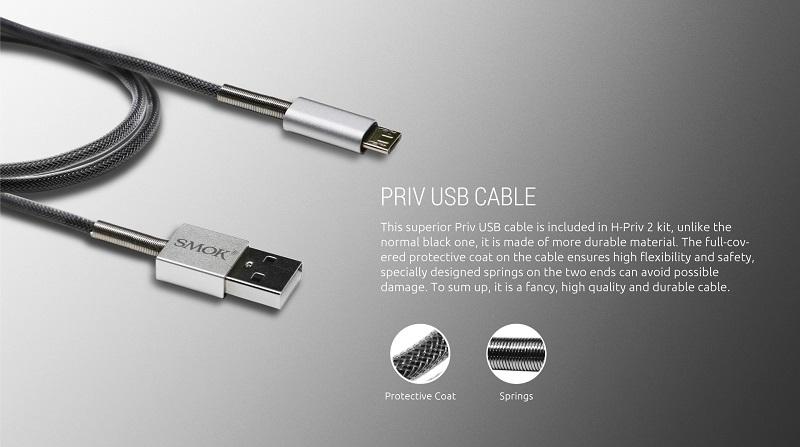 SMOK PRIV USB Cable