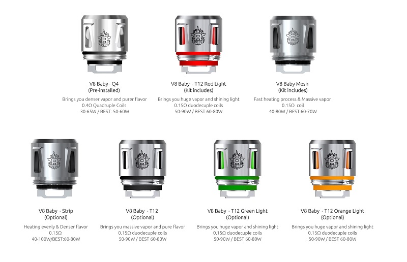 SMOK V8 Baby Strip Coil 0.15ohm