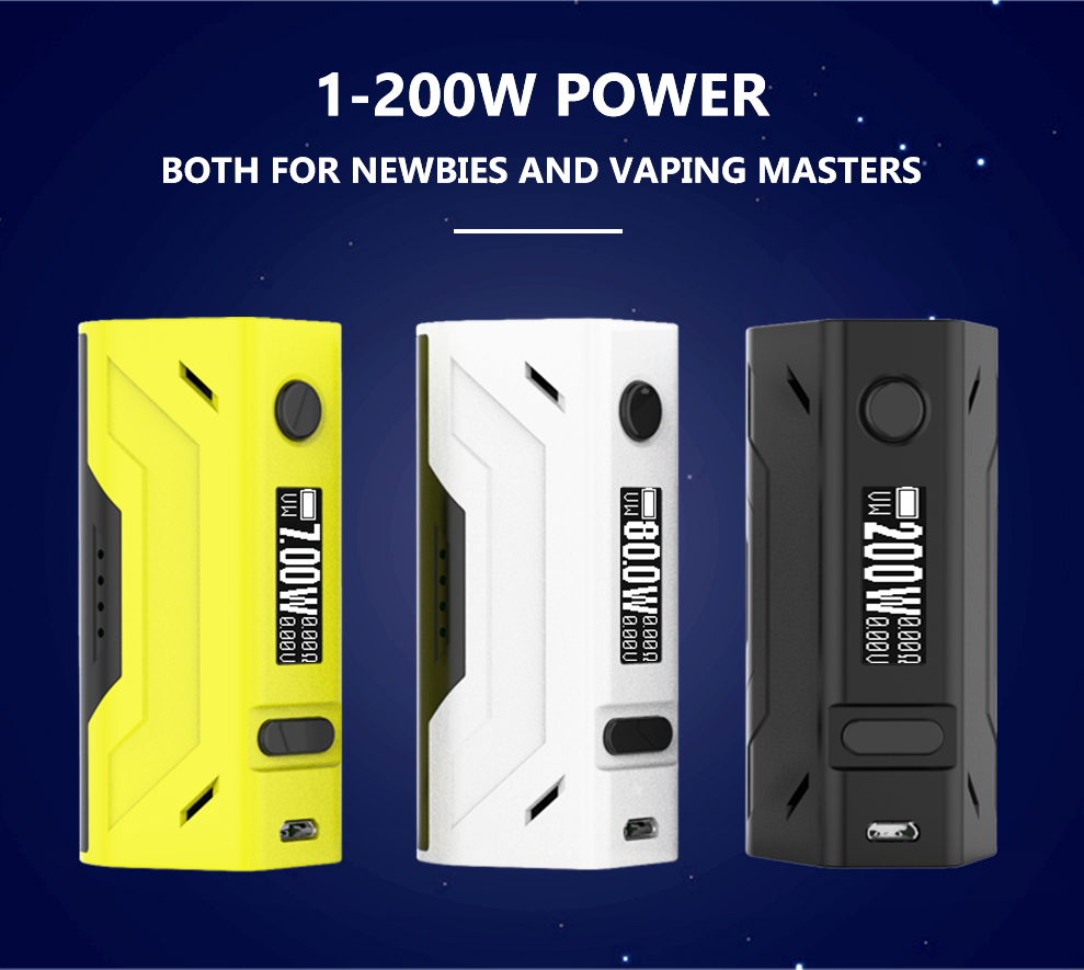 Smoant Battlestar 200W TC Box Mod in Vapesourcing