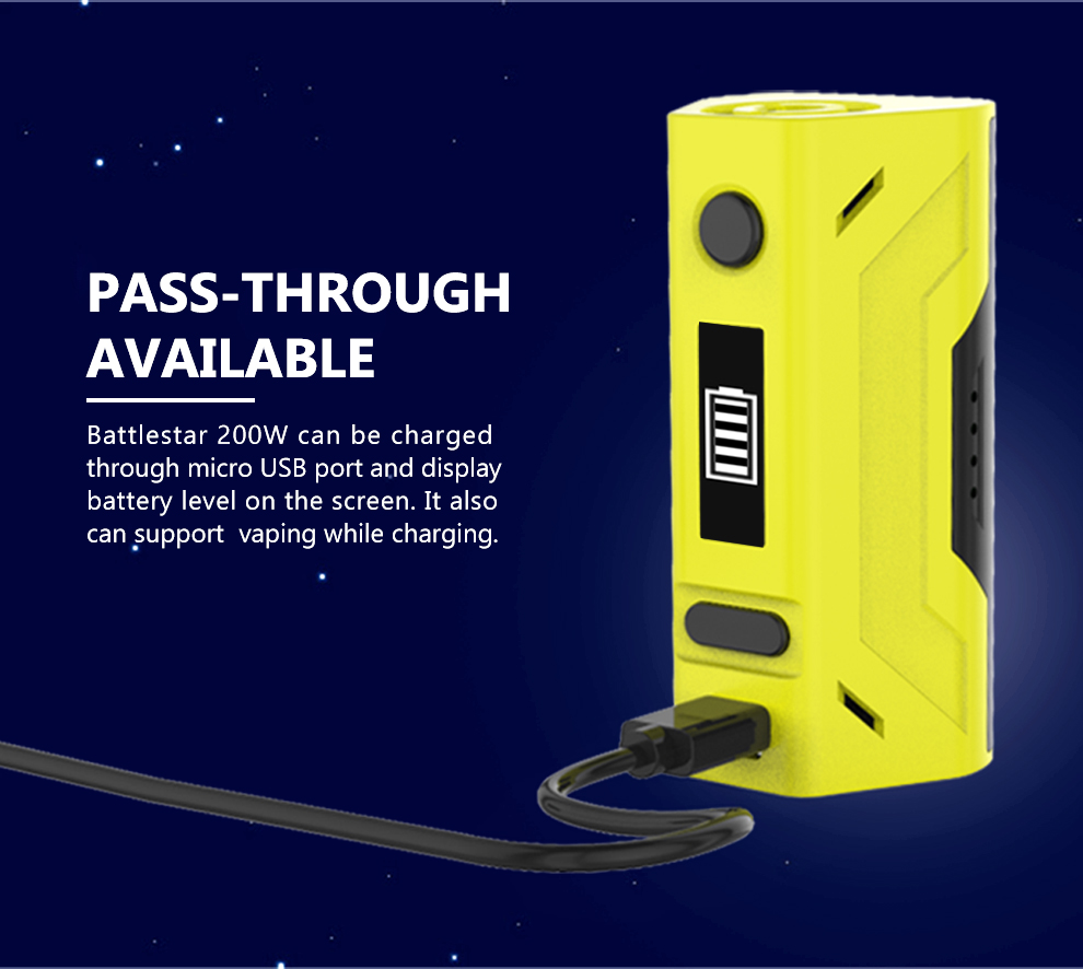 cheap Smoant Battlestar 200W TC Box Mod