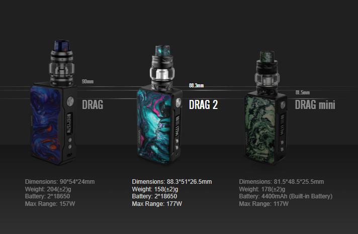 drag 2 kit