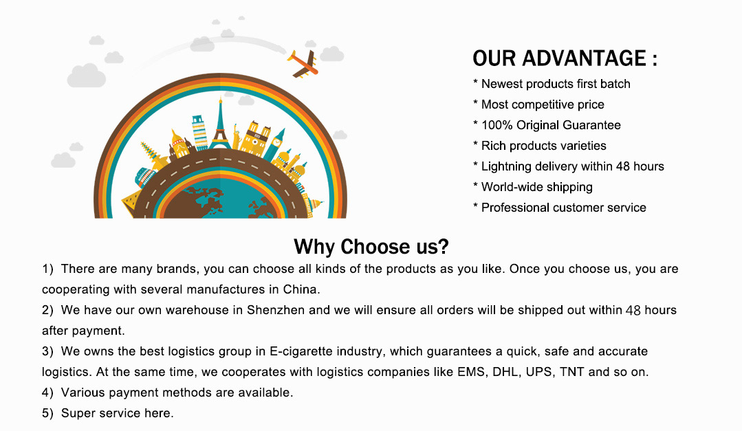 our advantages Vapesourcing