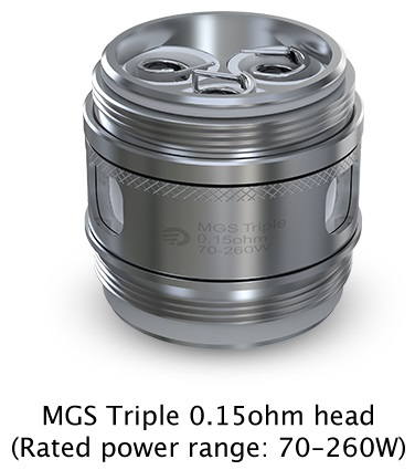 Joyetech MGS series heads for ORNATE Atomizer 6ml in Vapesourcing
