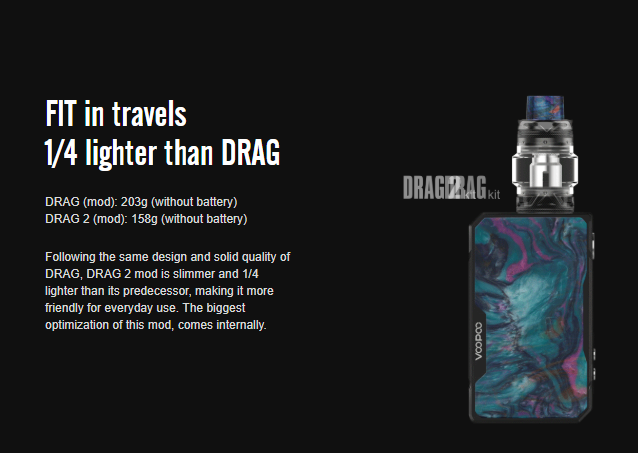 Drag 2 Kit with Uforce T2 Tank