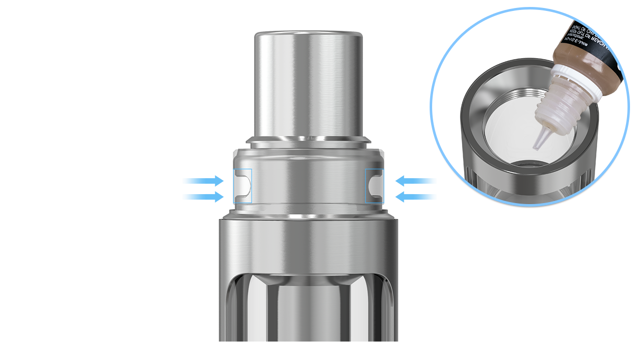 Joyetech eGo Twist+ with CUBIS D19 in VapeSourcing
