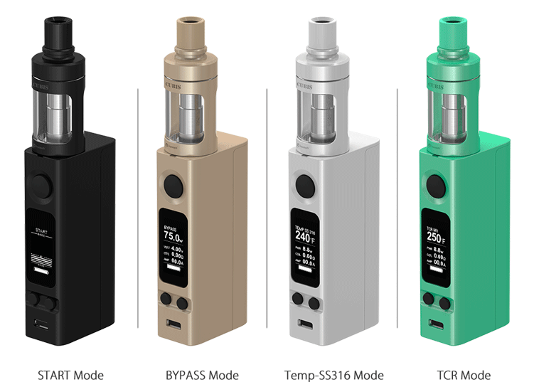 Joyetech evic-VTC Mini with cubis comes with new design start mode